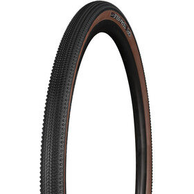 "Bontrager GR1 Team Issue Gravel TR Tire 28"", black/brown"